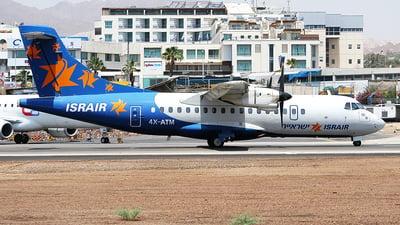 4X-ATM - ATR 42-320 - Israir