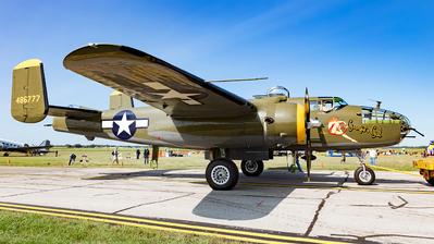 N345BG - North American TB-25N Mitchell - Private
