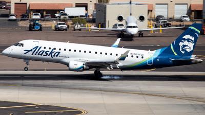 A picture of N636QX - Embraer E175LR - Alaska Airlines - © John Marzo