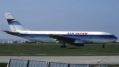 F-GBEA - Airbus A300B2-1C - Air Inter