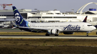 A picture of N915AK - Boeing 737 MAX 9 - Alaska Airlines - © Andrew Seong