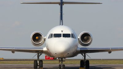VH-QQY - Fokker 70 - Alliance Airlines