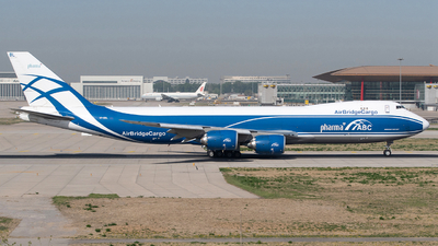 A picture of VPBBL - Boeing 74787U(F) - AirBridgeCargo Airlines - © songxiuming