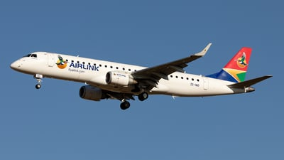 ZS-YAD - Embraer 190-100IGW - Airlink