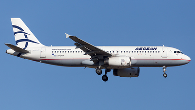 A picture of SXDVN - Airbus A320232 - Aegean Airlines - © Oksana