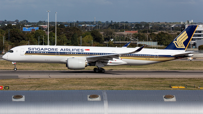 A picture of 9VSMU - Airbus A350941 - Singapore Airlines - © Airlinergeek