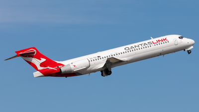 A picture of VHYQU - Boeing 7172BL - Qantas - © Mark B Imagery