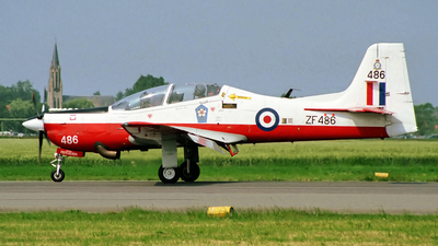 ZF486 - Short Tucano T.1 - United Kingdom - Royal Air Force (RAF)