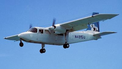 N4915U - Britten-Norman BN-2B-27 Islander - Gonini Air Service