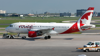 C-GBIN - Airbus A319-114 - Air Canada Rouge