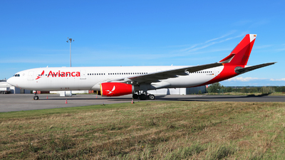 D-AAAN - Airbus A330-343 - Avianca