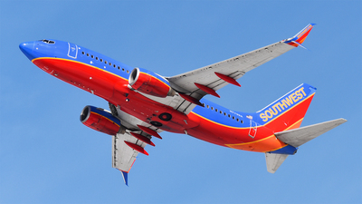 A picture of N7732A - Boeing 7377BD - Southwest Airlines - © Brady Noble
