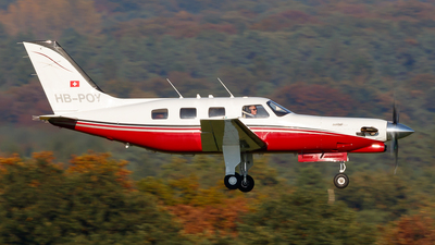 HB-POY - Piper PA-46-350P Malibu Mirage - Skyhill Aviation
