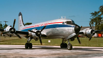 N4989K - Douglas C-54E Skymaster - Contract Air Cargo