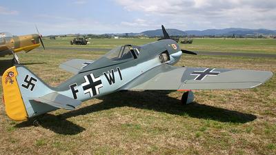 ZK-FWI - War Aircraft Replicas Focke-Wulf Fw190 - Private