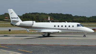 N428JD - Gulfstream G150 - Private