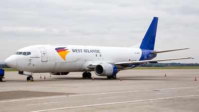 G-JMCV - Boeing 737-4K5(SF) - West Atlantic Airlines