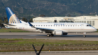 A picture of N110SY - Embraer E175LR - United Airlines - © Beck Ramsey