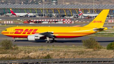 A picture of DAEAQ - Airbus A300B4622R(F) - DHL - © Alejandro Gutierrez Martin