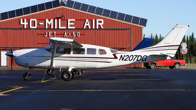 N207DG - Cessna T207 Turbo Skywagon - Private