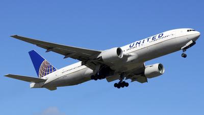 N778UA - Boeing 777-222 - United Airlines