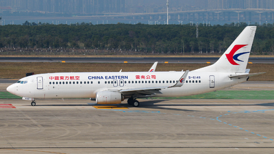 A picture of B6148 - Boeing 73789P - China Eastern Airlines - © BVAKPB