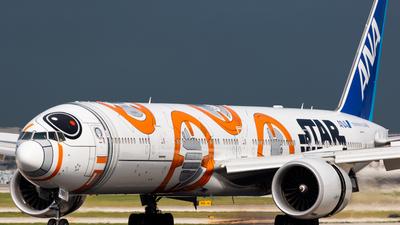 A picture of JA789A - Boeing 777381(ER) - All Nippon Airways - © Elliott F Martin