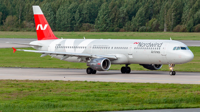 VQ-BOE - Airbus A321-211 - Nordwind Airlines