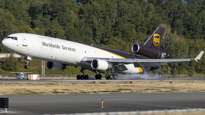 A picture of N294UP - McDonnell Douglas MD11F - UPS - © Brad Ice