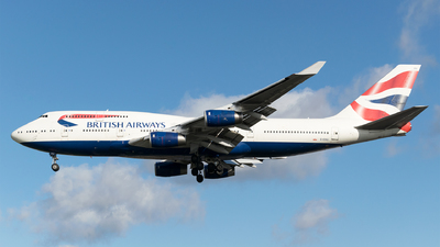 G-CIVU - Boeing 747-436 - British Airways