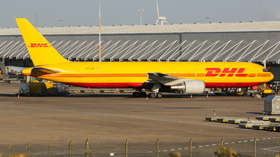 A picture of N372CM - Boeing 767338(ER)(BDSF) - DHL - © Jamie PD