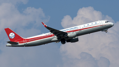A picture of B8686 - Airbus A321211 - Sichuan Airlines - © XPHNGB