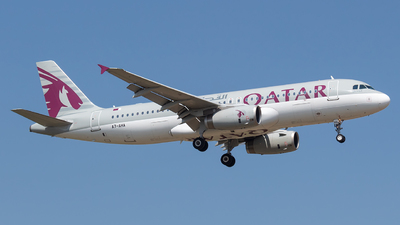 A7-AHA - Airbus A320-232 - Qatar Airways