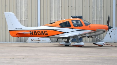 N80AG - Cirrus SR22T - Private