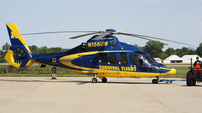 N156UM - Eurocopter EC 155B1 Dauphin - University of Michigan Health System