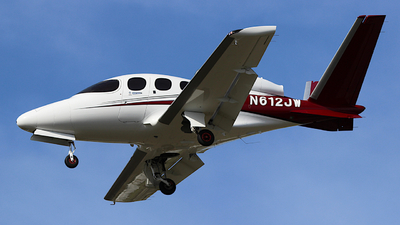 N612JW - Cirrus Vision SF50 - Private