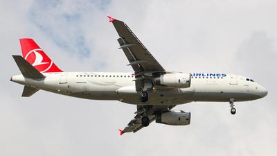 TC-JPK - Airbus A320-232 - Turkish Airlines