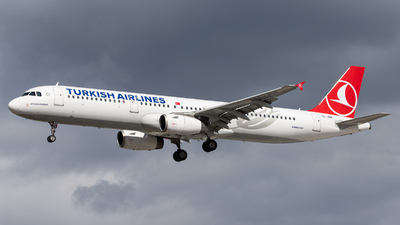 A picture of TCJRM - Airbus A321231 - Turkish Airlines - © kevin.hackert