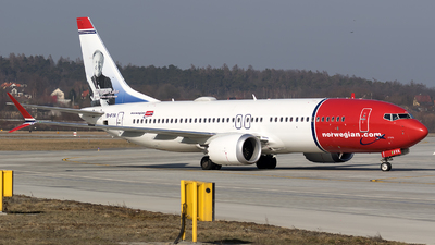 EI-FYA - Boeing 737-8 MAX - Norwegian