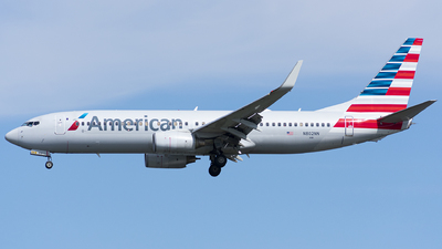 A picture of N802NN - Boeing 737823 - American Airlines - © Wes B