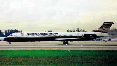 N183NA - McDonnell Douglas MD-83 - North American Airlines
