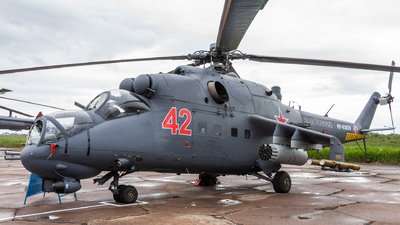 RF-93635 - Mil Mi-24P Hind F - Russia - Air Force