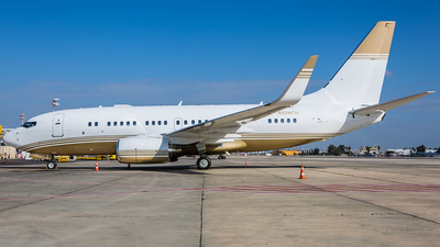 N324CH - Boeing 737-7BC(BBJ) - Private
