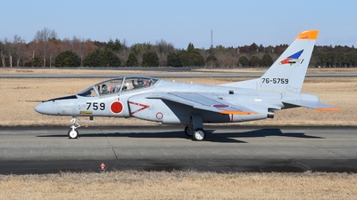 76-5759 - Kawasaki T-4 - Japan - Air Self Defence Force (JASDF)