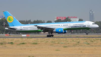 UK75703 - Boeing 757-231 - Uzbekistan Airways