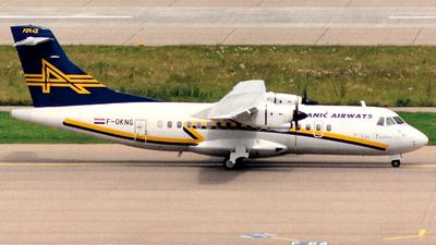 F-OKNG - ATR 42-300 - Anic Airways