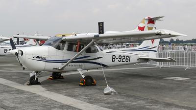 B-9261 - Cessna 172R Skyhawk - Civil Aviation Flight University of China