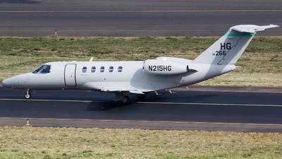 N215HG - Cessna 525C CitationJet 4 - Private