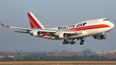 N708CK - Boeing 747-4B5(BCF) - Kalitta Air