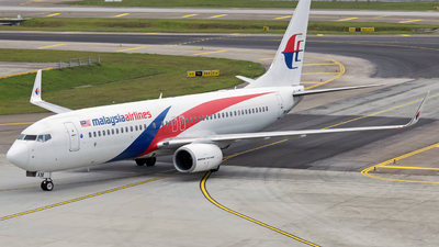 9M-MXM - Boeing 737-8H6 - Malaysia Airlines
